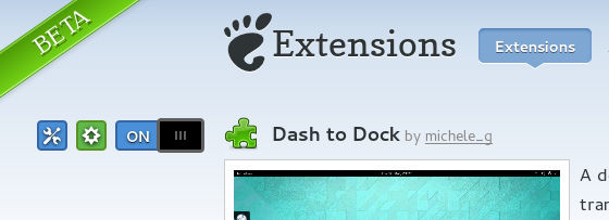 Installation - Dash to dock GNOME Shell extension